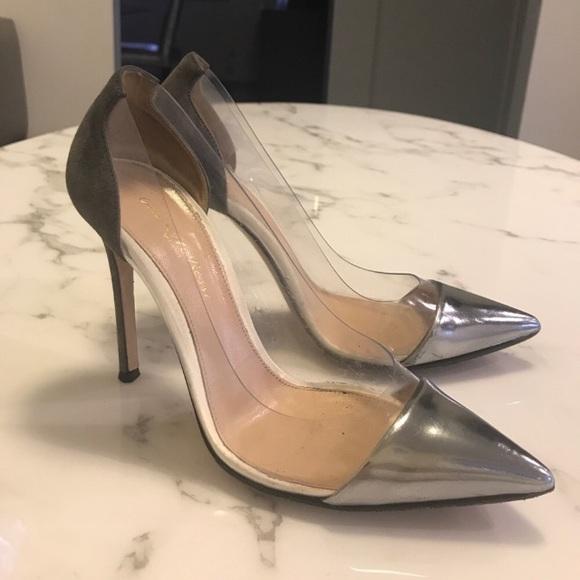 cc930cdfa4c gianvito rossi Shoes - GIANVITO ROSSI plexi pump size 37